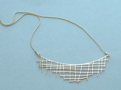 Doodle jewelry / Crisscross in gold $51