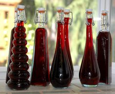 Handcrafted Berry Liqueur Recipe. Your choice of berries or a mixture, vodka, brandy, lemon peel, and vanilla included. Sounds like a great combination.