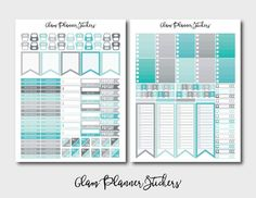 50% OFF SALE Mega Monthly Rainy Day by GlamPlannerSticker on Etsy