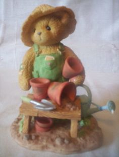 """Cherished Teddies 2002 Membear Set, Tristan No. CT108 """"Retired"""" in Collectibles, Decorative Collectibles, Decorative Collectible Brands 