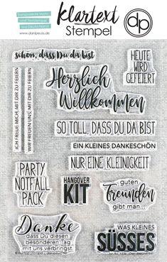 "NEU im Shop: das brandneue Klartext-Stempelset ""Gastgeschenke"" | www.danipeuss.de | #danipeuss #klartextstempel #kartenbasteln #scrapbooking #scrapbookinglayout #stempeln #basteln #motivstempel #bastelnmitpapier Shops, Bullet Journal, Blog, Scrapbooking, Products, Real Talk, Stamping Up, Diy Presents, Card Crafts"