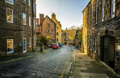 Bell's Brae - Dean Village, Edinburgh
