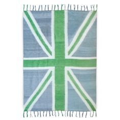 Jonathan Adler British Flag Throw - perfect for laying out on in the sun, or snuggling with when the sun goes down.