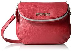 Kenneth Cole Reaction Pharrel Mini Crossbody Baked Apple *** Click on the image for additional details.