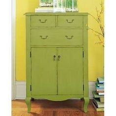 yellow painted dresser - Google Search