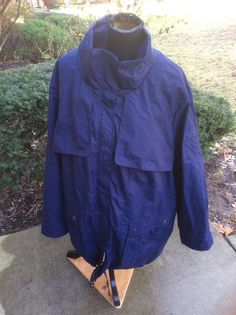 NEW WOMAN WITHIN PLUS SIZE ANORAK COAT JACKET ZIP OUT FLEECE LINING NAVY BLUE 3X #WomanWithin #Parka #Casual