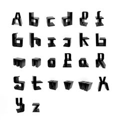Typographic chairs http://www.roelandotten.com/