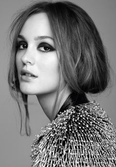 Leighton Meester in December 2010 Issue of UK's Marie Claire