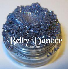 Belly Dancer Blue Purple Glitter Sparkle by lumikkicosmetics, $5.95