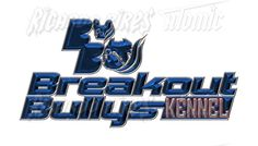 Australia Customer Breakout Bullys kennel Logo Development + T-Shirts Design Too Jeffery Cameron  by Ricardo Pires
