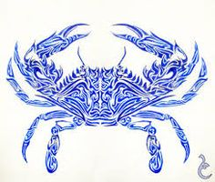 Image result for crab tattoo designs