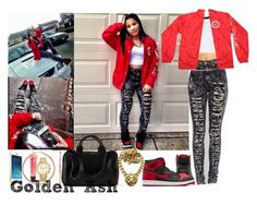 """""""Millionaire OG Bred A.W Lion"""" by fashionsetstyler ❤ liked on Polyvore"""