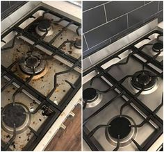 Mum shares three-ingredient solution that makes surfaces look brand new — The Sun Cleaning Spray, Toilet Cleaning, Cleaning Hacks, Kitchen Cupboards, Kitchen Appliances, Homemade Oven Cleaner, Clean Stove Top, Diy Cleaners, Homemade Beauty Products