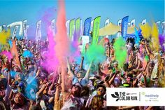 Color Run with Medihelp travelling from Mother City to Capital City