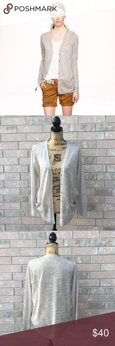 J.CREW Sparkle Cardigan Sheer and lightweight for transitioning into Fall. New without tags. 70% viscose, 15% polyester, 15% metallic. Relaxed boyfriend fit. J. Crew Sweaters Cardigans