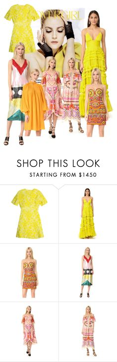 """""""Daffodils are back!"""" by lalu-papa ❤ liked on Polyvore featuring COVERGIRL, Giambattista Valli, Maria Lucia Hohan, Moschino, Novis, Temperley London and TIBI"""