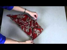 Sari Gift Wrap - Wrapping a Long Box - YouTube