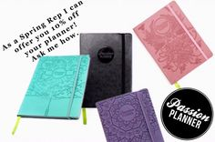Why pay for full price, when you can a discount?! Use my code: SASHA10 for, you guessed it, 10% off these amazing planners. I've joined the #pashfam ! I was selected by Passion Planner to be a rep, and I'm very excited. This planner has changed my life. It's more than just a calendar. It is a life coach, journal, and a space of infinite possibility.  Each week has weekly quotes and challenges, and monthly reflections.  This planner has  Want to know more? Let me know.