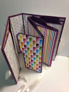 My Creative Corner!: Envelope Punch Board File Folder Album Weekend Project