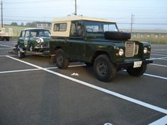 landy & mini cooper, my 2 faves in one pic!