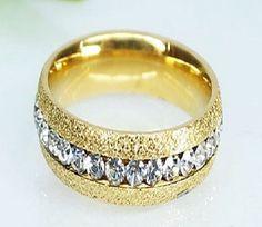 Inel placat cu aur de 18 k, 2 microni. Pietre: zirconia. Culori: alb. Aur, Gold Rings, Rose Gold, Bracelets, Jewelry, Charm Bracelets, Bijoux, Bracelet, Jewlery