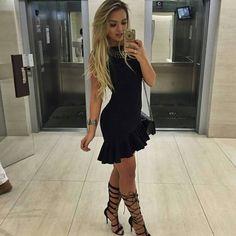 vestido-preto-justo-lindo-moda-2016-regata-babado-blogueira-look-comprar