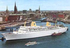 Swedish American vende el MS Kungsholm (IV) y abandona el negocio de los cruceros (22 agosto 1975)