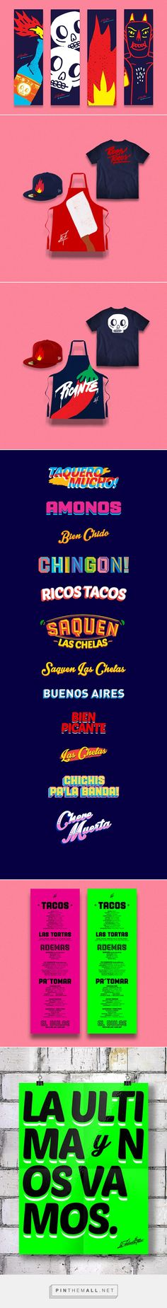 La Fabrica del Taco restaurant branding - Grits + GridsGrits + Grids - created via http://pinthemall.net