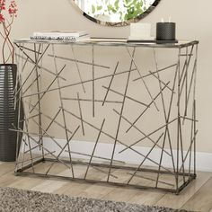 I like it, but it would be a nightmare to dust & keep clean! So no way – metal of life Welded Furniture, Industrial Design Furniture, Iron Furniture, Steel Furniture, Home Decor Furniture, Furniture Design, Steel Art, Wood Steel, Wood And Metal