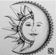 Best ideas for tattoo moon mandala design Mandala Design, Mandala Art, Mandala Drawing, Doodle Art Drawing, Pencil Art Drawings, Art Drawings Sketches, Nature Drawing, Tattoo Sketches, Sun Coloring Pages
