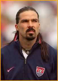 Marcelo Balboa- American Soccer Player.  Still makes my all-time US team!