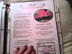 † My Thirty-One Binder under $20 dollars HELPFUL INFO in binder form! :) pages, guides etc from TOT