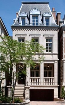Parisian City House traditional exterior