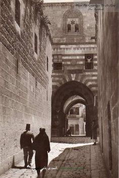 Old photo Aleppo-Syria