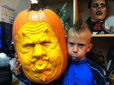 AMAZING Pumpkin Carvings From the Guys at Villa Fane Studios
