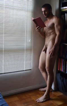 In the Naturist world the appearance of the male penis would be no more remarkable than a hand,a. Guys Read, Barefoot Men, How Lucky Am I, I Love Reading, Male Figure, Nude Photography, Cute Guys, Are You The One, Beautiful Men