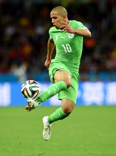 Sofiane Feghouli of Algeria