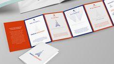 paris aeroport - bleu, blanc, rouge, dépliant, communication, print