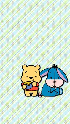 Pooh & Eeyore Wallpaper
