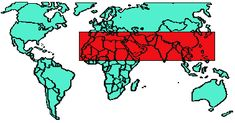 world map, 10/40 window map where unreached peoples live