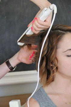how to: beach waves for short hair | Little Miss Momma | Bloglovin'