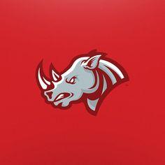 Rhino - Mascot Logo on Behance