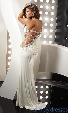 Sexy One Shoulder Prom Dress by Jasz 4335 at SimplyDresses.com