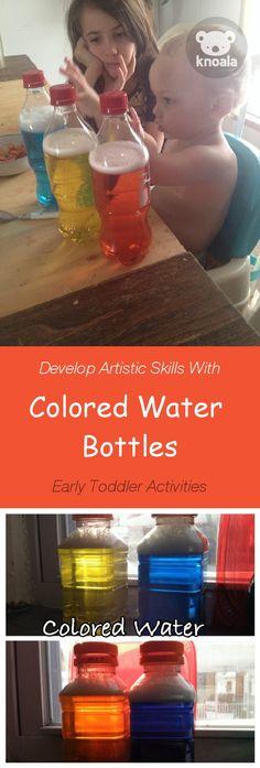 Knoala Late Preschooler Activity u0027Yellow \ Blueu0027 helps little - artistic skills