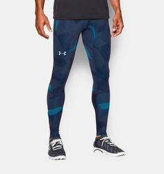 Men's UA Launch Run Printed Compression Leggings