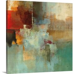 Canvas On Demand 'Big City I' by Randy Hibberd Painting Print on Canvas