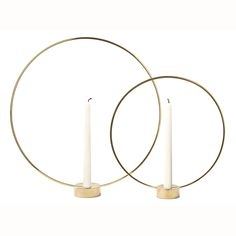 Gloria lysestake S, messing – Klong – Kjøp møbler online på Ring Home, Cylinder Shape, Swedish Design, Best Candles, Elle Decor, Design Awards, Decoration, Candlesticks, Candle Sconces