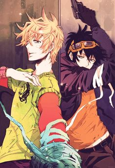 Gareki and Yogi have become my two new favorite male anime characters. They're are so coool