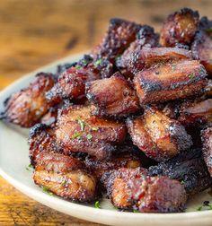 Air Fryer Recipes Keto, Air Frier Recipes, Air Fryer Dinner Recipes, Healthy Dinner Recipes, Appetizer Recipes, Cooking Recipes, Appetizers, Healthy Dinners, Cooking Pork
