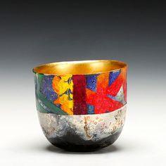 Schaller Gallery Represented Artist: Bennett Bean - Blairstown, New Jersey. Ceramic Bowls, Ceramic Pottery, Pottery Art, Pottery Sculpture, Sculpture Art, Cigar Box Art, Decorative Gourds, Paper Bowls, Japanese Pottery
